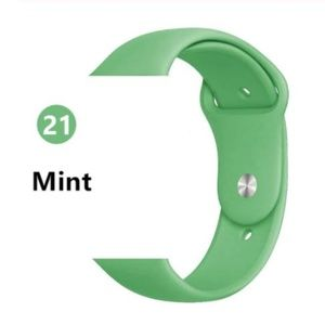 Accessories - ❤️NEW Mint Sport Silicone Band For Apple Watch